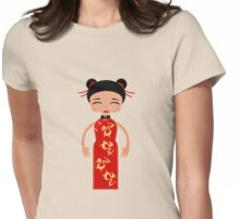Little China girl Womens Fitted T-Shirt