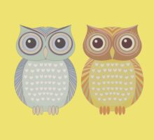Cool Owl & Friendly Owl Kids Clothes