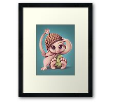 Tiny Furry Framed Print
