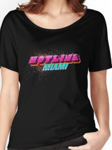 Hotline Miami ! Women's Relaxed Fit T-Shirt