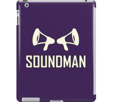 Vintage Soundman  iPad Case/Skin
