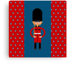 British Bearskin Cap Guard Canvas Print