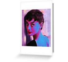 HOLLY (Audrey Hepburn) Greeting Card