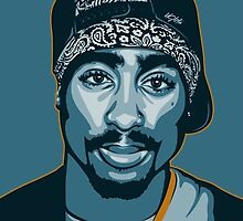 TUPAC by BOZOBABY