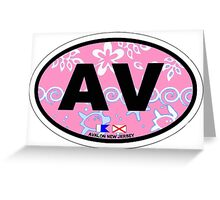 Avalon - New Jersey. Greeting Card