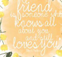 True friends Sticker