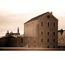The Old Willson Carbide Mill and a View of Parliament Photographic Print