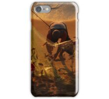 golden fishing - pescando oro iPhone Case/Skin