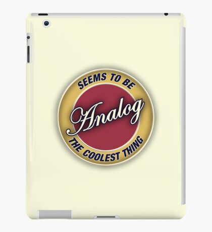 Analog iPad Case/Skin