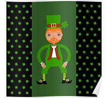 Naughty Irish Leprechaun  Poster