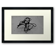Wire Drawing #6 Framed Print