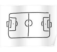 soccer football field Poster