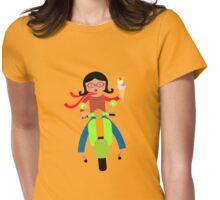 Italian girls love ice cream Womens Fitted T-Shirt