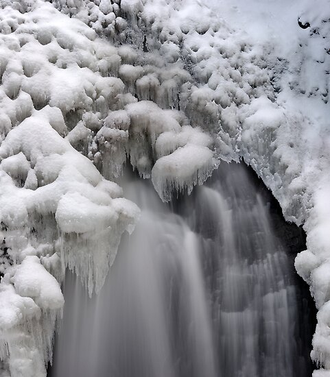 Ice Falls by Stephen Beattie
