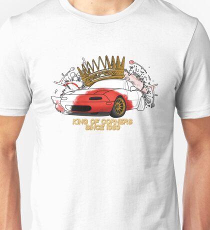 King of Corners - Mazda Miata Unisex T-Shirt