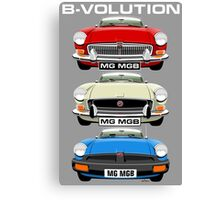 MG MGB evolution  Canvas Print