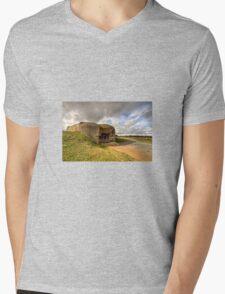Normandy gun  Mens V-Neck T-Shirt
