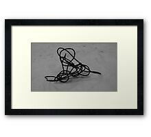 Wire Drawing #7 Framed Print