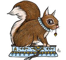 Antonia's Squirrel by Anita Inverarity