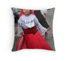 Youngest Dancer Throw Pillow