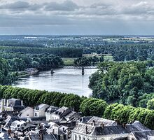 Chinon, France #4 by Elaine Teague