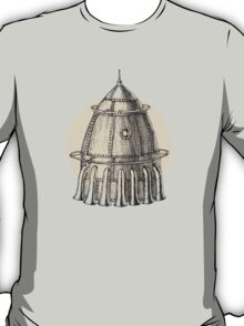 Steam punk rocket T-Shirt