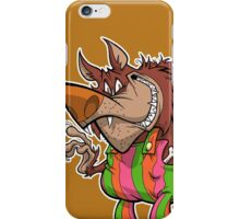 BREAKFAST WITH THE WOLFMAN iPhone Case/Skin