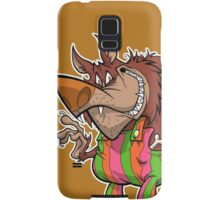 BREAKFAST WITH THE WOLFMAN Samsung Galaxy Case/Skin
