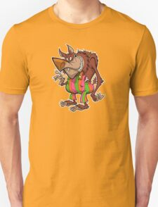 BREAKFAST WITH THE WOLFMAN Unisex T-Shirt