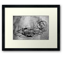 Linear Sculpture - second series #1 Framed Print