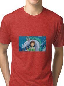 Spirited Away Feat. Sen Tri-blend T-Shirt