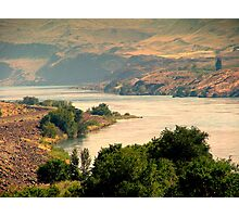 Columbia River Photographic Print