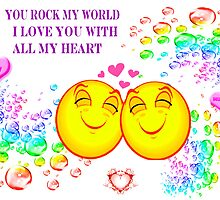 You rock my World by Elenne Boothe