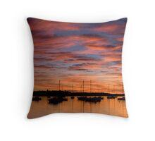 Corlette Sunset Throw Pillow