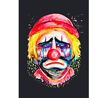 Sad Clown Photographic Print