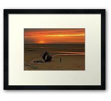 Mary's Shell, Cleveleys, UK Framed Print