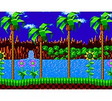 Green Hill Zone Photographic Print