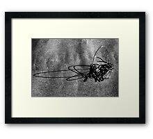Linear Sculpture - second series #4 Framed Print