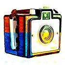 Box Camera Pop Art 3 by Edward Fielding