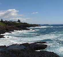 Kiama Ocean after a Storm by Vanessa Moss