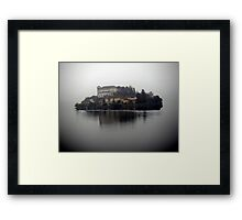 Between dream and reality Framed Print