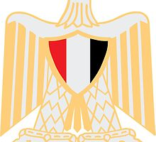 Coat of Arms of Egypt by retromoomin
