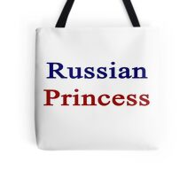 Russian Princess  Tote Bag