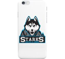 "Starks ""Winter is coming"" iPhone Case/Skin"