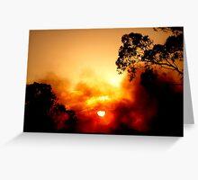 ~Fiery Sky~ Greeting Card