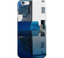 Mirror installation, gallery building, Prague iPhone Case/Skin