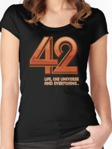 Forty-Two Women's Fitted Scoop T-Shirt