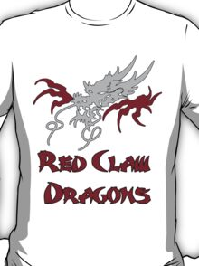 Red Claw Dragons  T-Shirt