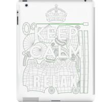 Keep calm and relax iPad Case/Skin