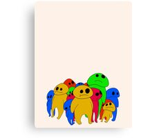 Colorful Sadness Canvas Print
